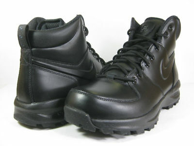 best authentic 0b891 27508 Men s Nike ACG Manoa Leather Black Black Sizes 8-13 New In Box 454350