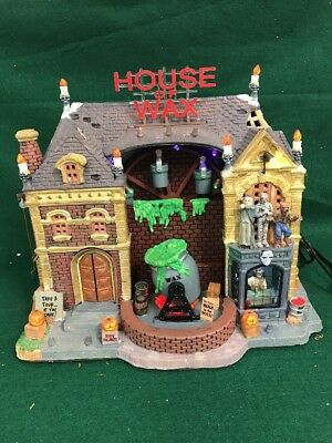 Lemax Spooky Town Carnival ~ HOUSE OF WAX ~ Halloween Village - IN BOX