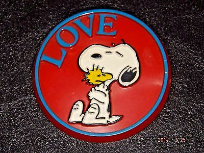 Vintage Butterfly Originals Snoopy Pin Painted Buttons United Feature Syndicate