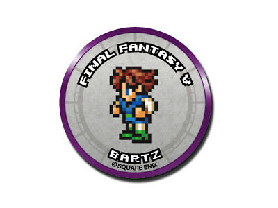Final Fantasy Record Keeper Pin Badge Collection FFV Bartz Pixel Art Button