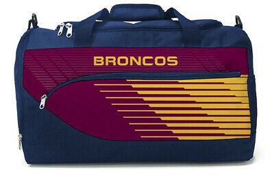 NRL Sports Bag -  Brisbane Broncos - Team Travel School Sport Bag - BNWT