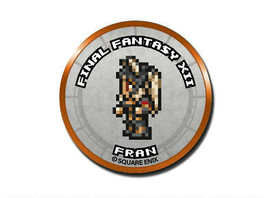 Final Fantasy Record Keeper Pin Badge Collection FFXII Fran Pixel Art Button