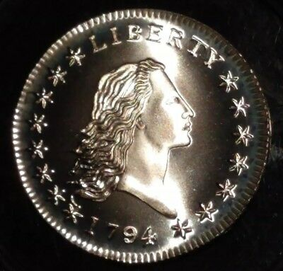 1794 Flowing Hair Gallery Mint Token Medal Half Dollar United States Silver Coin