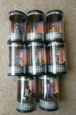 Warner Bros Miniature Classic Collection BATMAN ANIMATED - 8 figures - Free Ship