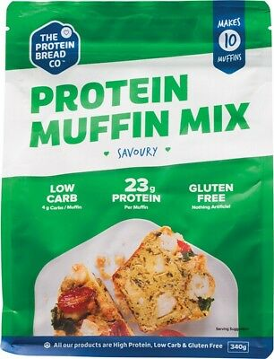 THE PROTEIN BREAD CO. Protein Muffin Mix Savoury 340g