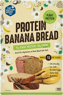THE PROTEIN BREAD CO. Protein Banana Bread Plant Protein 340g