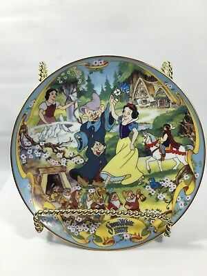 The Bradford Exchange Snow White The Fairest One of All Disney Musical Plate