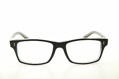 New Authentic Ray Ban RB 5225 2034 Black/Clear 54mm Frames Eyeglasses RX