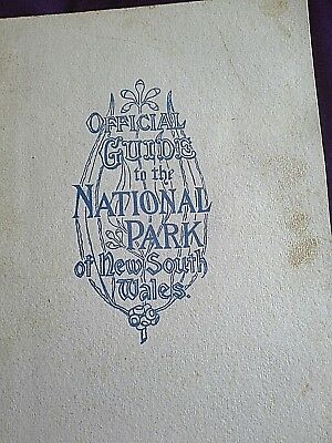 OFFICIAL GUIDE to the NATIONAL PARK of NEW SOUTH WALES (1914 ed My box 9)