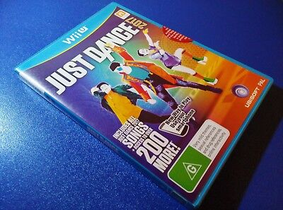 Reduced - Just Dance 2017 Wii U Game NEW/SEALED AUS PAL - Fast Priority Post