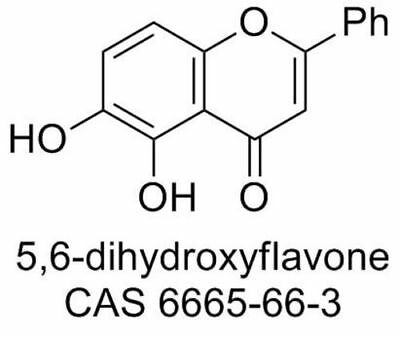 5,6-dihydroxyflavone solution in DMSO (20 mM, 30-1000 µL , CAS 6665-66-3)