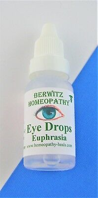 EUPHRASIA HOMEOPATHY EYE DROPS for ADULTS&CHILDREN-Conjunctivitis Dry itchy eyes