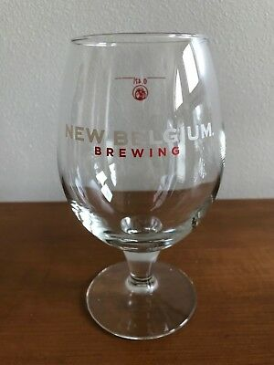 New Belgium Brewing 0.47L Beer Glass / Chalice / Stemmed Glass