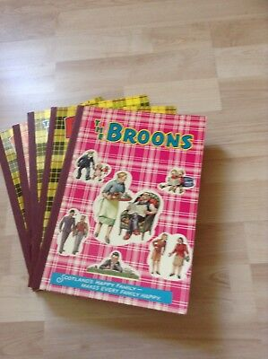 The Broons annuals, D C Thomson, complete 1970s, good condition