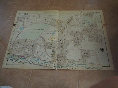 Part of Ward 7, City of Yonkers, Plate 6, Atlas of Westchester County, 1911