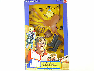 Mattel 9922 Big Jim Adventure Gear Equestrian Reiter  MIB Neu OVP 1411-13-10