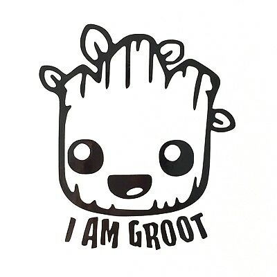 Guardians of the Galaxy I AM GROOT Vinyl Decal Sticker