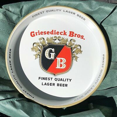 Griesedieck Brothers Beer Tin Tip Tray