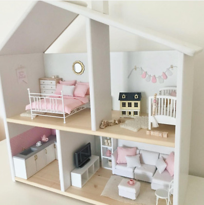 Wooden Doll House Systems (from Australia) White