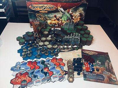 Heroscape Master Set Rise of the Valkyrie 1st Edition 2004 99.9% Complete