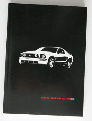 05 2005 ford mustang owners manual w black case binder 20 99 rh picclick com 2005 Ford Mustang Manual Gear Shift 2004 Ford Mustang Interior