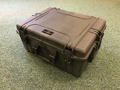 DJI phantom 3 waterproof hard trolley case by MRAxessories.co.uk