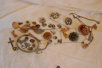 Collection job lot of vintage and later costume jewellery