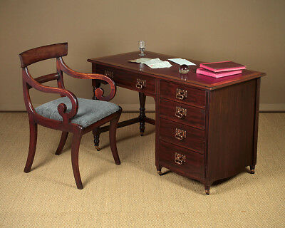 Antique Edwardian Mahogany Writing Desk c.1905.