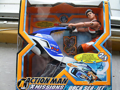 Action Man Figur X Missions Orca Sea Set in Orginalverpackung