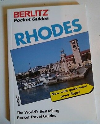 The Berlitz Pocket Guide to Rhodes 1997  by Barbara Ender SHIPS $3.66 IN USA !!!