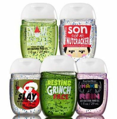 💚  Bath and Body Works Edgy Christmas  5-Pack PocketBac  💚