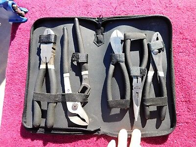 Matco *mint!* Silver Eagle 5-Piece Plier Set!
