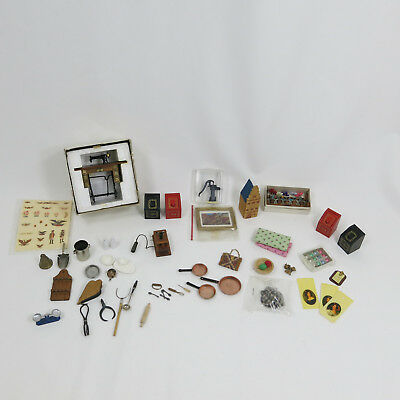 Country General Store Vintage Dollhouse Miniatures Gifts Supplies Accessories