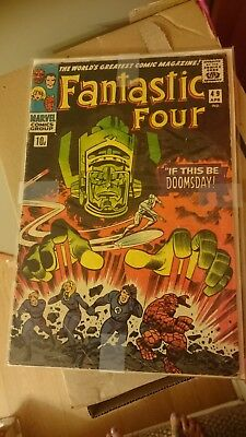 Fantastic Four 49 first full appearance of Galactus low grade