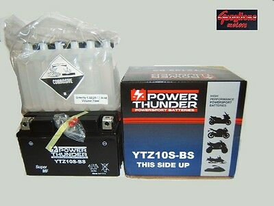 Batteria Power Thunder Ytz10S-Bs Per Yamaha Xp T-Max 500 Dal 2008 Al 2011