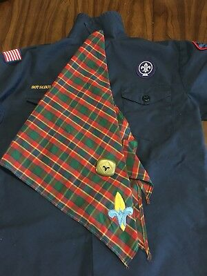 Webelos Shirt, Neckerchief And Slide