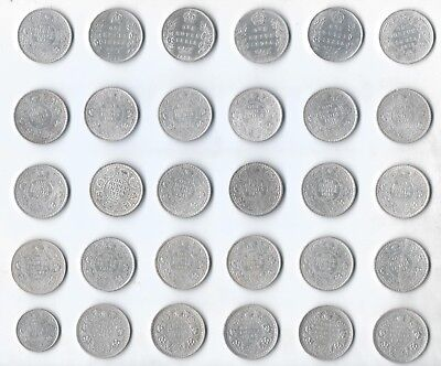 British India Coin - 30 Coins Collection
