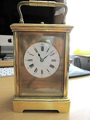 Antique, French Re-Peating Carriage Clock