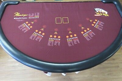 Genuine Let It Ride Layout from Flamingo Casino Las Vegas