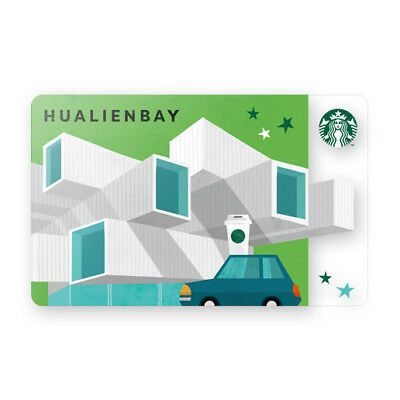 New 2018 Starbucks Taiwan Coffee Gift Card City Series Hualien Bay Limited #264