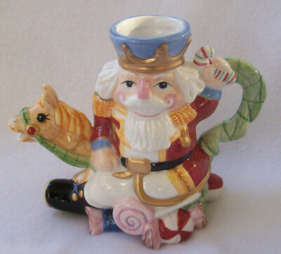 "Fitz and Floyd ""Nutcracker Sweets"" Creamer - NEW"