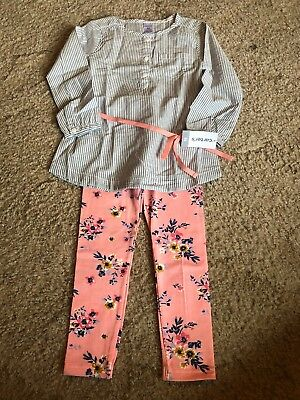 Carters Toddler Girl Outfit Size 4T Nwt!