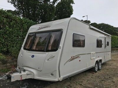 Bailey Senator Carolina 2005 Fixed Bunks Fiamma Awning 6 Berth