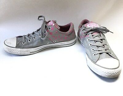 c08a3e422fc220 WOMENS SIZE 10 CONVERSE CTAS Dark Stucco White Black MADISON OX ...