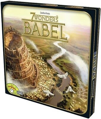 7 Wonders Card Game: Babel Expansion Repos Productions BRAND NEW ABUGames