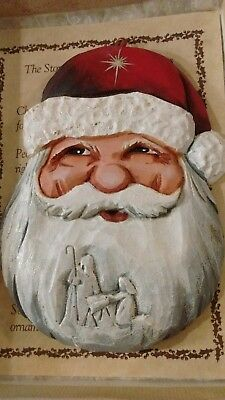 Peter Engler The Story Of The Father Christmas Nativity Ornament