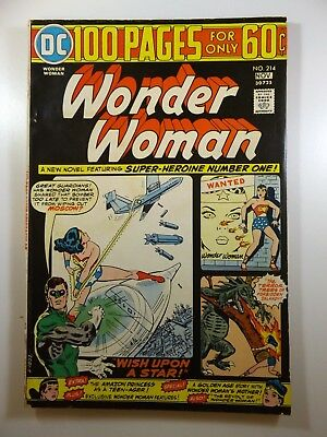 Wonder Woman #214 100-Pager! Awesome Read! Gorgeous VG/Fine Condition!!