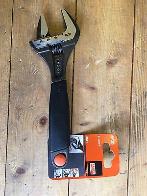 """Bahco 9031 Ergo Wide Jaw Adjustable Wrench 8"""""""