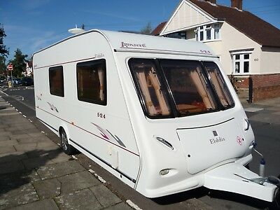 2005 ELDDIS AVANTE 4 berth caravan with Awning