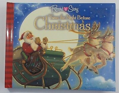 Record A Story Twas The Night Before Christmas Board Book